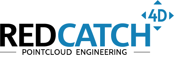 REDcatch 4D GmbH Logo Pointcloud Engineering