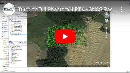 p4rtk DJI phantom 4 und M210 M300 postprocessing ppk software rtklib easy free