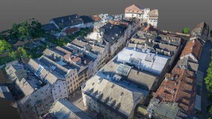 city modelling drone dachflächen rtk