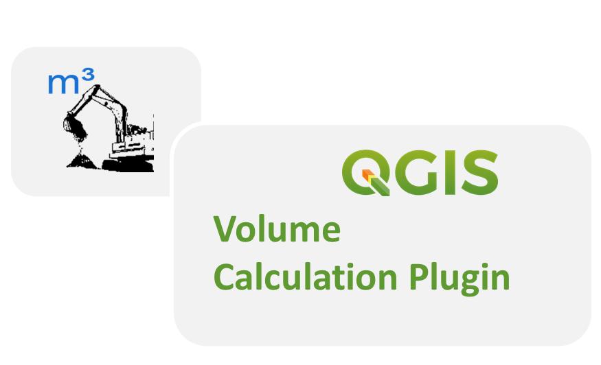 Volume Calculation uav dem agisoft pix4d plugin QGIS