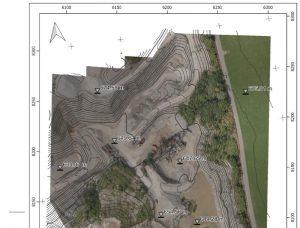 QGIS UAV Map karte gis höhenlinien