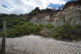 Costal erosion scan photogrammetry